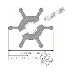 Johnson Impeller 09-810B Ø50,8mm