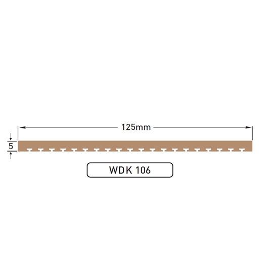 DEK-KING - 125mm King Plank - 10 mtr