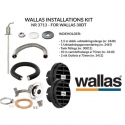 Wallas Installations kit for 30 Dt