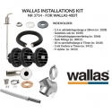Wallas Installations kit for 40 Dt