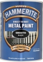 Hammerite Hammered Sort 750 ml.