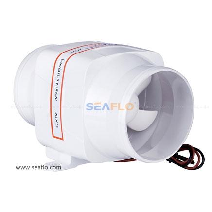 Seaflo In-Line Ventilator Ø100 mm.